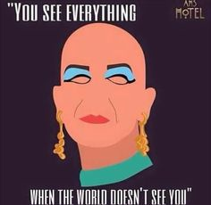ahs hotel, liz taylor, and american horror story image