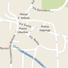 Mappa di Caluso - Via Roma - CAP 10014, stradario e cartina geografica | Tuttocittà
