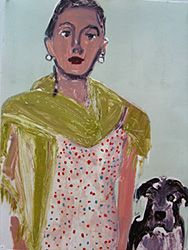 """Kyle Staver: Suzanne's New Dog"""", 2004  Monotype"""