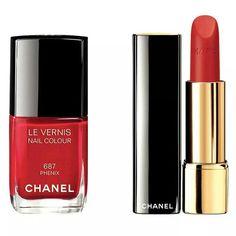 Lips and polish