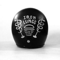 Iron Lungs Helmet Design by Matylda Mcilvenny, via Behance                                                                                                                                                      More
