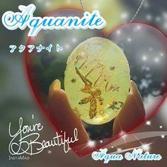 オルゴナイトとスノードームを融合しました Aquaniteといいます♪(*^^*)