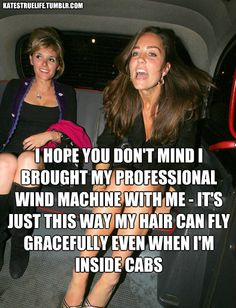 Okay, all these Kate Middleton things are just great.