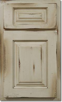 Shiloh Olde World Custard Cabinet Color