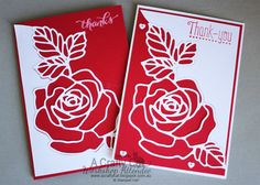 Do you LOVE roses? If your answer is yes, then you will LOVE Stampin' Up! Rose Garden. It is a wonderfully versatile die that I will show y...