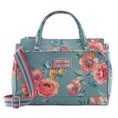 Windflower Bunch Mini Multi Pocket Handbag