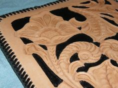 Hand Tooled Leather Kindle Sleeve Case