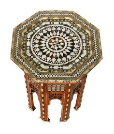 badia design inc store mosaic mother of pearl inlaid side table mopst025