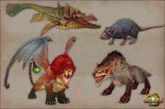 Allods Online ingame artwork - monsters