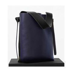 anita_hass: twisted beauty #céline cabas bag bi-color with dark green back #welovebags #celinebag