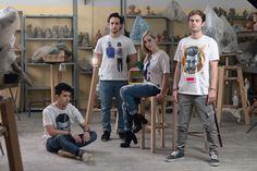 T Shirt #nuovoevo #newbrand# #fashionart #originaldesign #fashion #collaboration #contemporaryitalianartists #modaitaliana #naturalfabrics #italianproduct #originalprint  #print