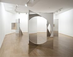 <p>Copenhagen-born Jeppe Hein works out of Berlin, where he creates minimalist conceptual artworks with an interactive bent. Often working in reflective surfaces, he's made mazes, large-scale mobiles