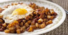 Hot Dog Hash if perfect If you happen to have a few leftover hot dogs. Mixing them into a delicious breakfast hash makes a perfect breakfast or brunch dish!