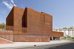 aq4 Arquitectura || OKE Casa de la Cultura de Ortuella (Vizcaya, España) || 2011