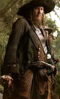 Hector Barbossa - Pirates Of The Caribbean