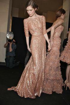 Elie Saab Haute Couture Spring Summer 2011 - Blush ~ Federica ~  Clásico ~ Classique ~ Enchanting ~