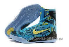factory price b168c b00c9 Buy Cheap Nike Kobe 9 High 2015 Blue Yellow Black Mens Shoes Authentic  Ctcb3, Price   99.34 - Jordan Shoes,Air Jordan,Air Jordan Shoes
