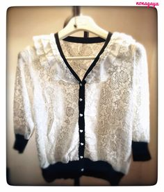 Lace Cardigan Rp 195k on nonagaya