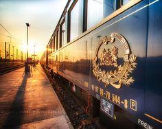 Orient Express Sunset... by Michael Hivet