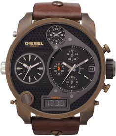 DZ7246 - Authorized DIESEL watch dealer - Mens DIESEL Diesel Mr Daddy, DIESEL watch, DIESEL watches