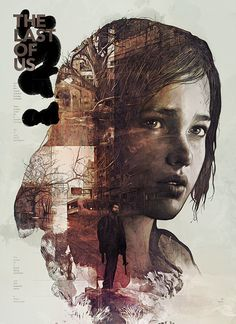 Cool Graphic Design on the Internet, The Last Of Us. #graphicdesign #poster @ http://www.pinterest.com/alfredchong/graphic-design/