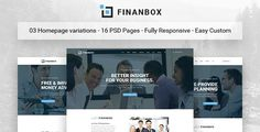 FINANBOX - Multipurpose Business & Corporate Business PSD Template by Leonard_Design  1. Introduction Welcome to my theme page! FINANBOX ¨C Multipurpose Business & Corporate Business PSD Template. You can customize