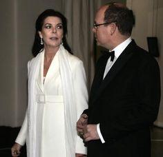 Princess Caroline of Monaco and Prince Albert