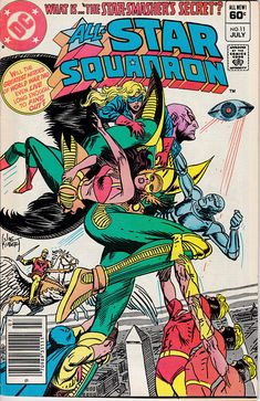 Annual All Star Squadron 11  DC Comics  July 1982 Issue