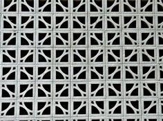 60's Concrete White Screen - Dallas, via Flickr.