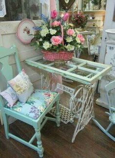 This sewing machine table thou
