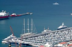 Record number of superyachts in Gibraltar