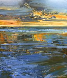 Search and Explore Art - Masterpiece Online Small Canvas Paintings, Seascape Paintings, Landscape Paintings, Painting Canvas, Virginia Occidental, Oil Painting Texture, Abstract Landscape, Painting Inspiration, Sculpture