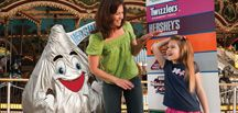 Hershey Park and Chocolate World are a family favorite when it comes to fun!