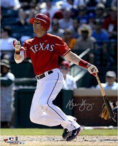 Michael Young Texas Rangers Autographs Texas Rangers Ranger Texas