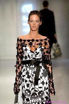 2013 Abiye Modelleri Moda Düşük Kollu Elbise Modelleri 2013