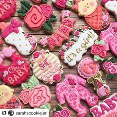 69 ideas for baby shower nio cupcakes Fancy Cookies, Iced Cookies, Cute Cookies, Royal Icing Cookies, Sugar Cookies, Frosted Cookies, Galletas Decoradas Royal Icing, Galletas Cookies, Cupcakes