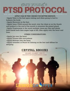 Essential Oils for PTSD **If you would like to order & receive OUR discount (20%) please look online here: http://www.youngliving.com/en_US/ & email or call/text us with your order: JScottIsaacs@gmail.com / 317.201.6074 ** If you are interested in joining, we would be happy to connect you with our upline.
