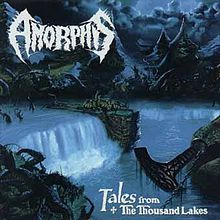 """Tales from the Thousand Lakes"" is the second full-length album by metal band Amorphis. A monumental concept album, the lyrics are based on the Finnish national epic, Kalevala. It was their first departure from the more aggressive death metal sound of their debut album to a more melodic death/doom metal sound, with more influence from early bands influential to doom metal like Black Sabbath and Pentagram."