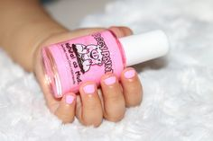 Baby Girls' nails!   Piggy Paint Nail Polish (non-toxic)