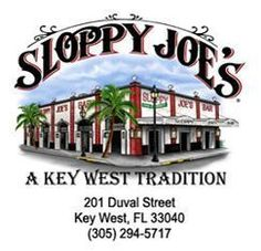 Looking for a good place to catch a drink or a bite to eat in Key West? Sloppy Joes is a great drinking spot, food is spotty, but a must stop in Key West. Key West Florida, State Of Florida, Florida Vacation, Florida Travel, Florida Keys, Florida Springs, Key West Restaurants, Great Restaurants, Key West Bars