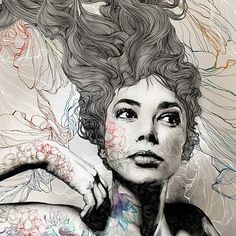 gabriel_moreno_pre.jpg (524×524) #illustration #draw #painting