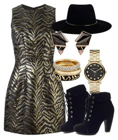 """Animal Printed Outfit"" by deedee-pekarikhihiha ❤ liked on Polyvore featuring Roberto Cavalli, Bamboo, Zimmermann, Nak Armstrong, Michael Kors, Marc by Marc Jacobs, animalprint and zebraprint"