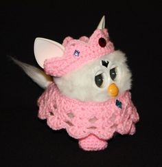 New Crochet Outfit Clothes for Furby Furby Boom Furby Queen in Evening Gown | eBay