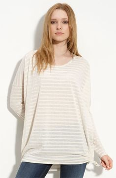 A lovely oversized Free People tunic to feed my need for stripes. $39.99 at Nordstrom.