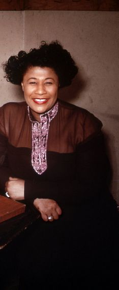 Ella Fitzgerald Love this pic of her she's glowing!!