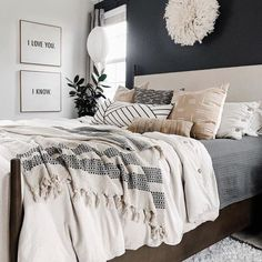 Home Decor Bedroom, Home Bedroom, Bedroom Interior, Bedroom Makeover, Bedroom Design, Master Bedrooms Decor, Home Decor, Room Ideas Bedroom, Apartment Decor