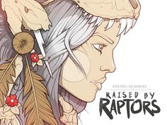 Raised by Raptors : Issue No.1 by Oliver Sykes & Ben Ashton-Bell, via Kickstarter. (Can't wait)