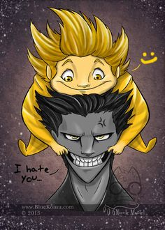 I Hate You by bluekoinu.deviantart.com on @deviantART