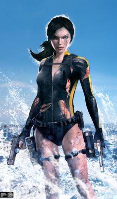 Lara Croft - Dirty Job by MadSpike