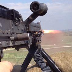 240B Machine gun.. Oh yeah.. I took this photo with my iPhone 4S..:)